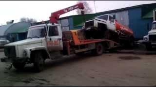 эвакуатор тольятти нива с прицепом т  498 007(, 2014-04-15T06:03:11.000Z)