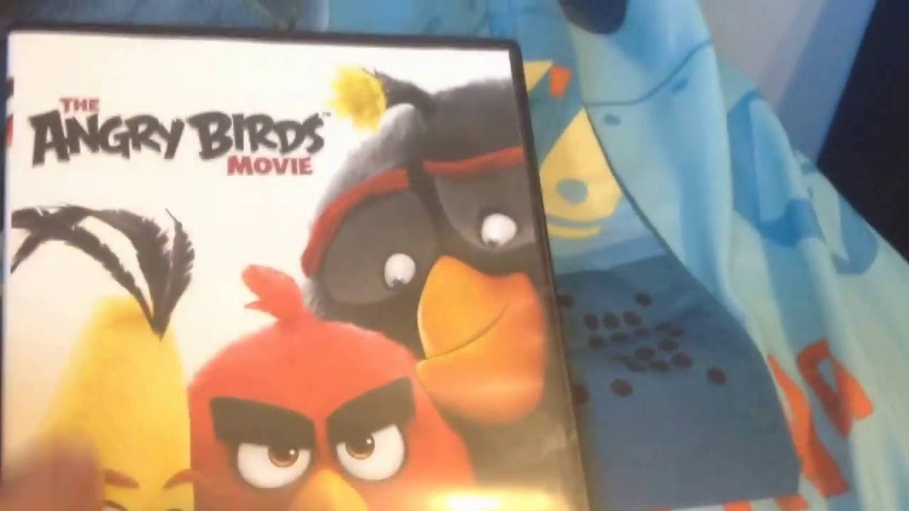 The Angry Birds Movie Dvd Unboxing Youtube