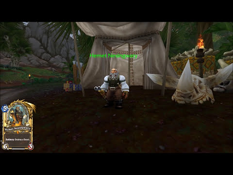 Hearthstone GOBLINS VS GNOMES Legendaries inside World of Warcraft