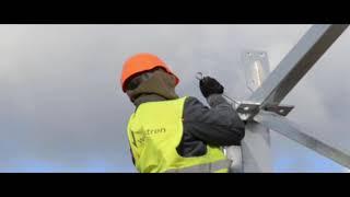 Ferma loch: Montaż konstrukcji stalowej/ Reproduction farm, turn key project, steel construction