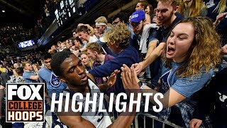 Kamar Baldwin drops 29 in 2nd half and OT, Butler holds on | FOX COLLEGE HOOPS HIGHLIGHTS