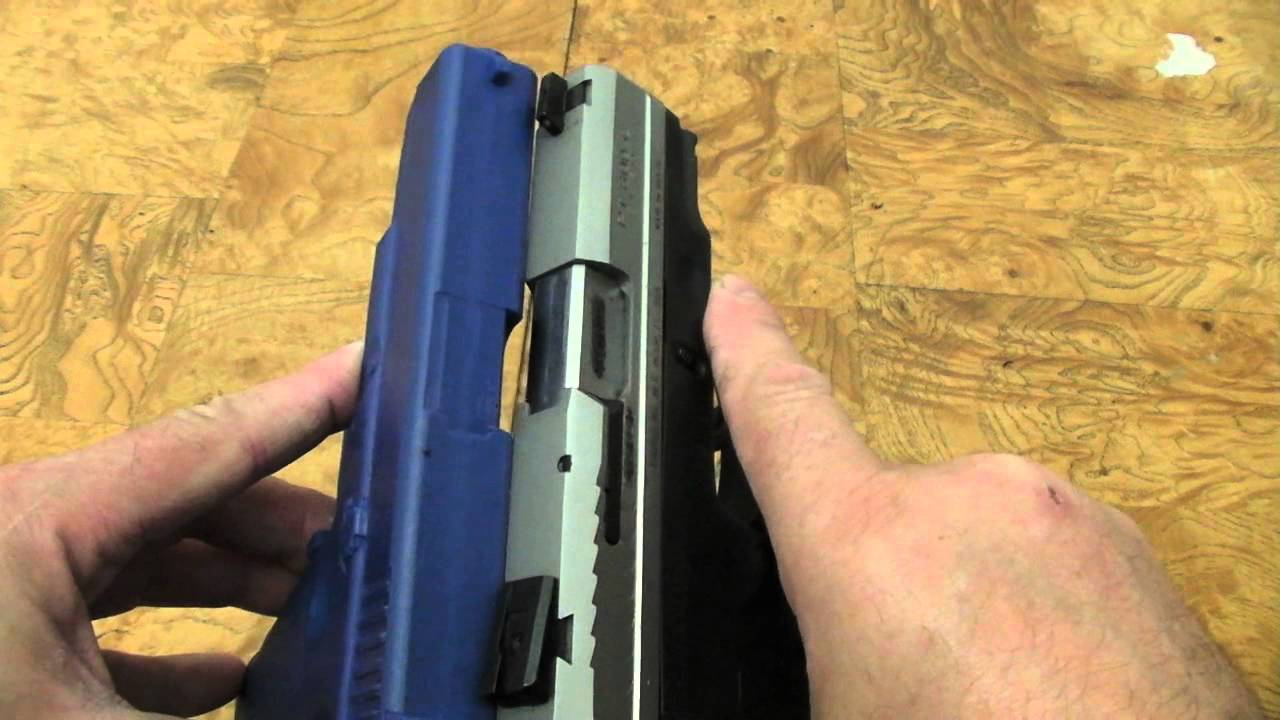 Why I don't Own A Glock & Comparison To A Taurus 809 Compact