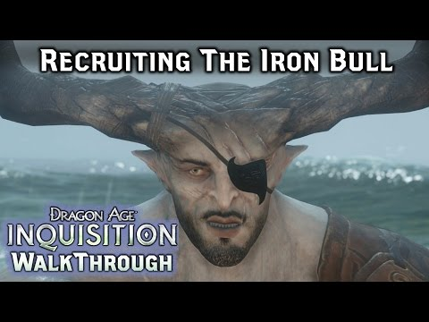 Dragon Age INQUISITION ► Recruiting The Iron Bull - Qunari Spy / Ben-Hassrath - Part 38 [PC]