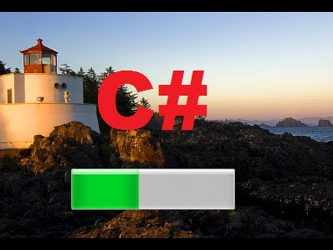 C# Tutorial 87: How To Make A Simple Splash Screen With ProgressBar In C#
