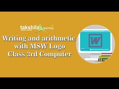 mswlogo worksheets for grade 3