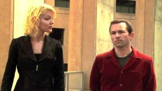 "Battlestar Galactica (2003)  Season 1 Episode 3 ""Bastille Day"" Number Six and Aaron Doral.mpg"