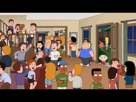 Crashing a Cool millennials house Party | Family Guy |
