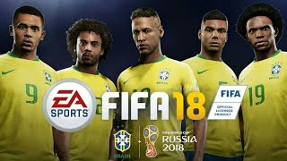 FIFA 18 MOD FIFA 14 | FIFA World Cup Russia 2018 Android Offline 900MB Melhores Gráficos