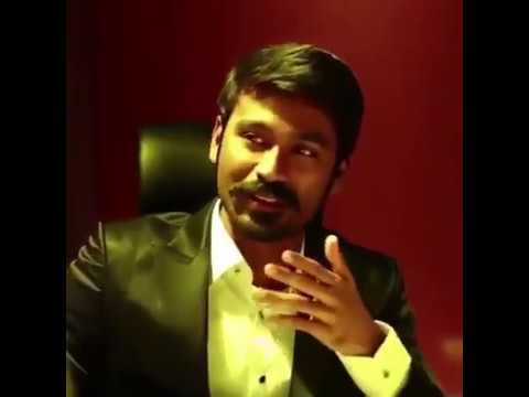 Dhanush - Open talk | Truely Inspiration