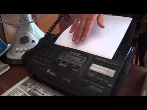 Как бесплатно отправить факс через интернет со своего