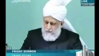 Проповедь Хазрата Мирзы Масрура Ахмада (12-11-10) часть 5