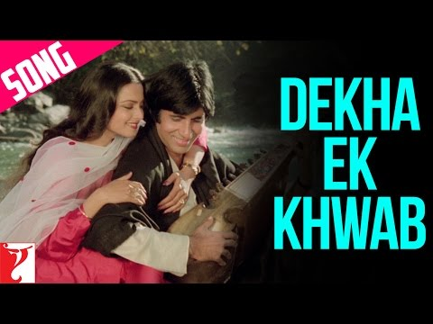 Dekha Ek Khwab Song | Silsila | Amitabh Bachchan | Rekha | Kishore Kumar | Lata Mangeshkar