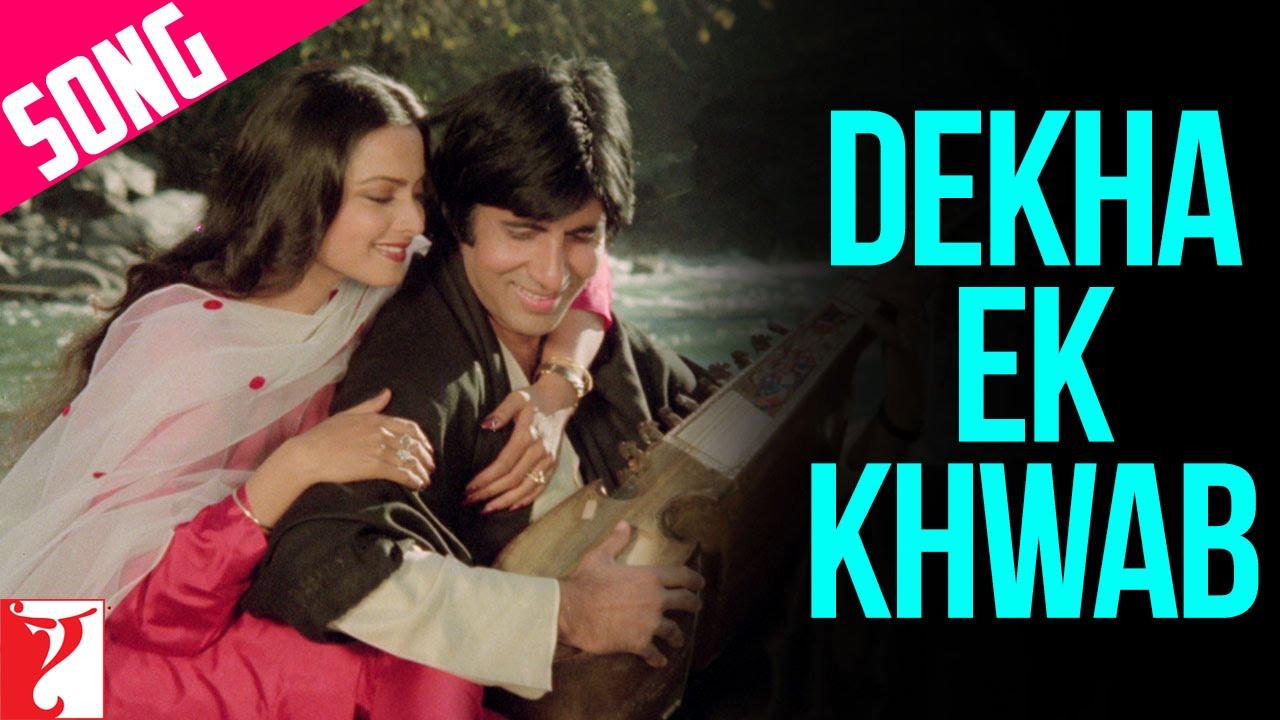 Download Dekha Ek Khwab Song   Silsila   Amitabh Bachchan, Rekha   Kishore Kumar, Lata Mangeshkar   Shiv-Hari