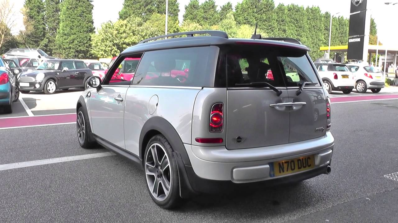 mini clubman 1 6 cooper d soho 5dr chili pack u63962 youtube. Black Bedroom Furniture Sets. Home Design Ideas