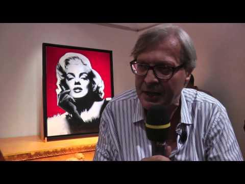 10-8-2013 Pop Art in Trieste 5 Sgarbi
