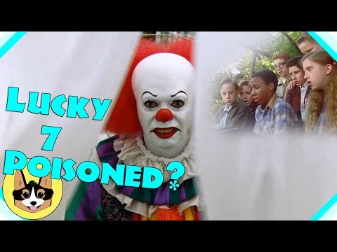 The Lucky 7 Poisoned!   IT Theory 1990 MiniSeries  Stephen King Movie
