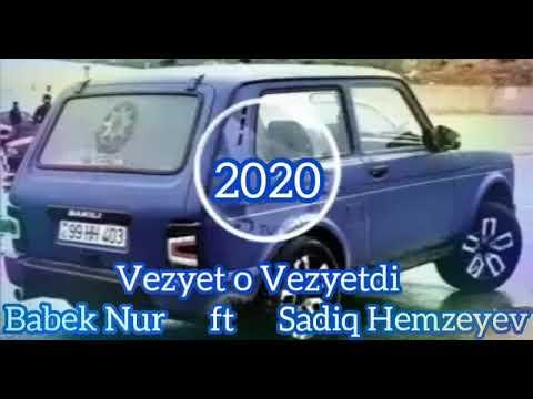 Sadiq Hemzeyev ft  Babek Nur -Xumar Geldi Getdi.2020