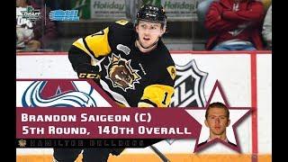 Brandon Saigeon (#17) Playoff Shift By Shift (April 7th)