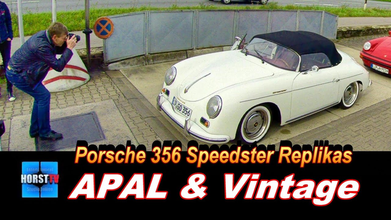 356 Speedster Replikas Apal Amp Vintage Youtube