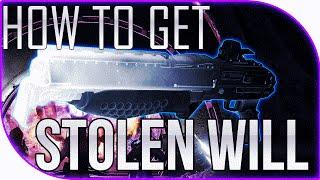 Destiny How to get the Stolen Will Shotgun - The Taken King April Update