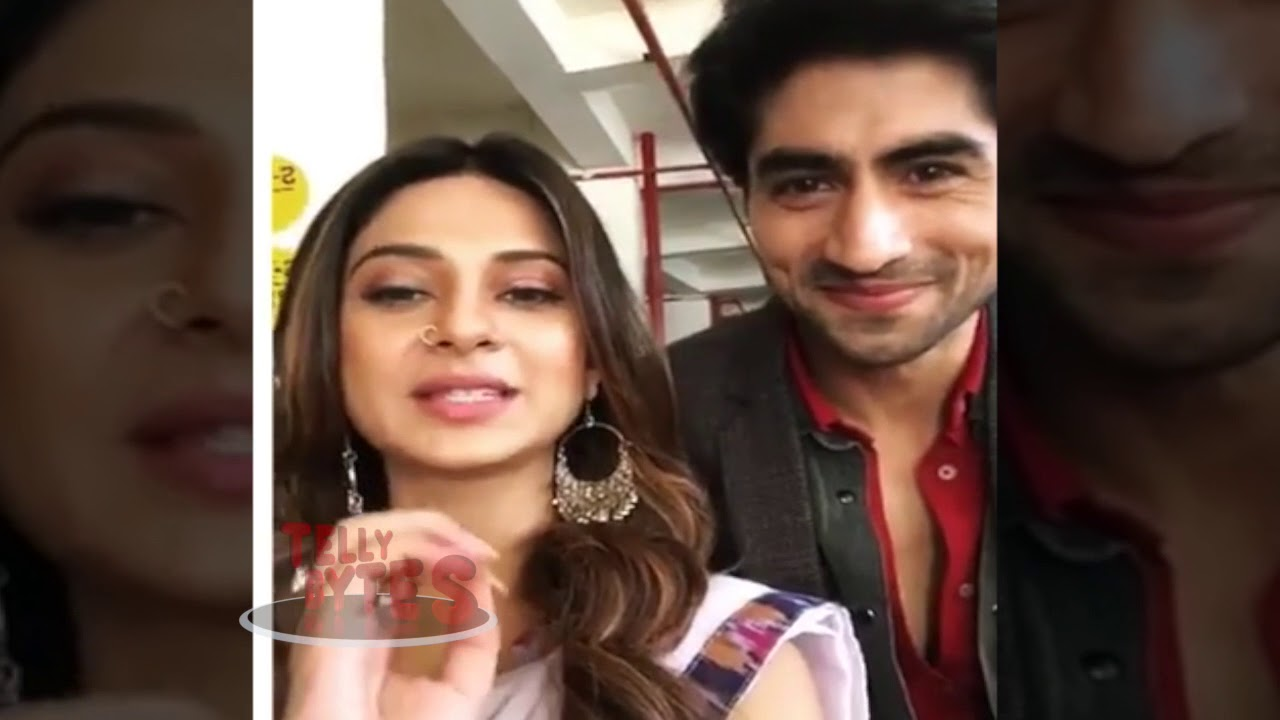 Jennifer And Harshad Reminds Viewers To Watch Bepanah ...
