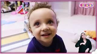 👋🏻 LIBRAS 👋 Valentina Pontes Compilação finge ter um novo irmão bebê ★ شفا دخلت البيبي السجن !