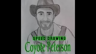 Coyote Peterson speed drawing