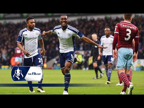 WBA 4-0 West Ham - FA Cup Fifth Round | Goals & Highlights