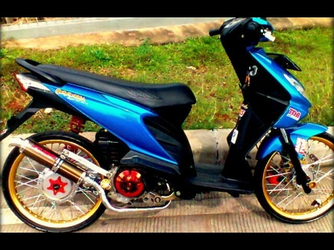 Cah Gagah | Video Modifikasi Motor Honda Beat Velg Jari-jari Ring 17 Airbrush Keren Terbaru Part 3