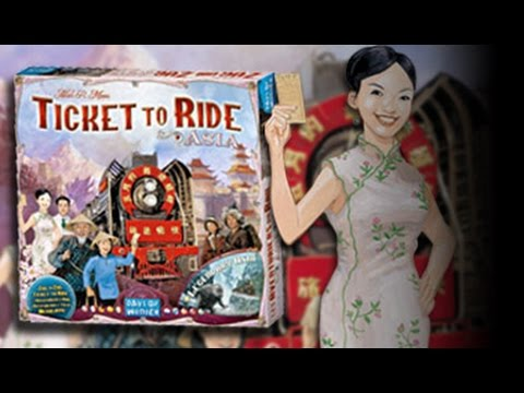 Board Game Night | Ticket To Ride: Legendary Asia |  International Tabletop Day 2015