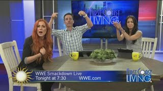 Becky Lynch Talks Smack Before WWE SmackDown Match (FCL January 8th)