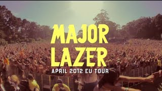 Major Lazer Spring 2012 Ukeu Tour Promo @ www.OfficialVideos.Net