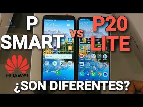 ¿Realmente vale la pena un Huawei P Smart? Lo comparamos con el P20 lite
