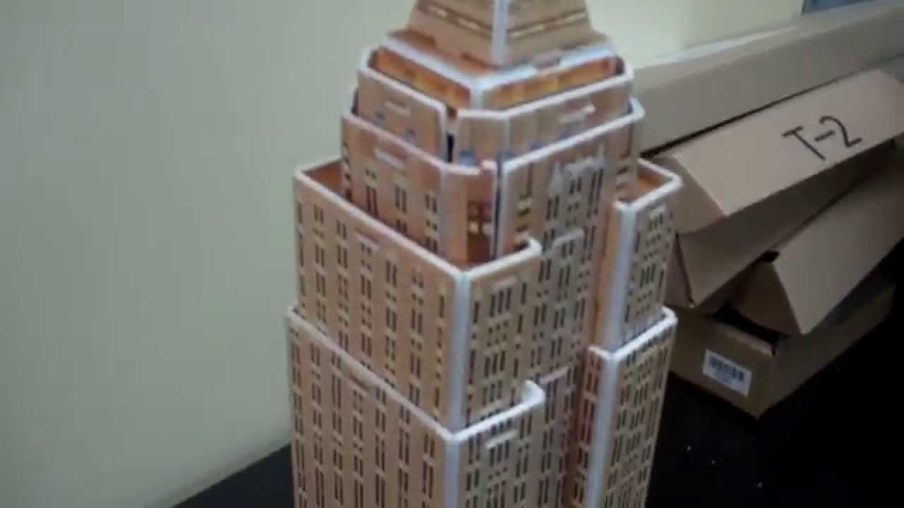 How To Build The Empire State Building Out Of Styrofoam