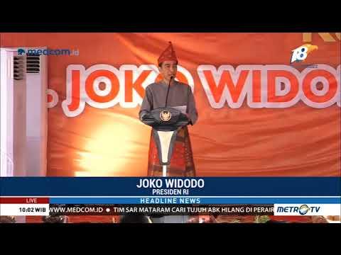 Jokowi Terima Gelar Adat Komering Mp3