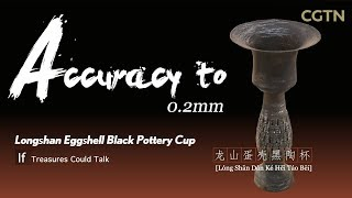 If Treasures Could Talk: What would Longshan Eggshell Black Pottery Cup say?