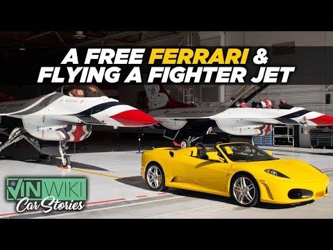 How I Got A Free Ferrari & To Pilot An F16 Fighter Jet