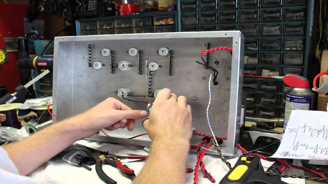 50 watt 6l6 guitar tube amp build time lapse part 2 youtube solutioingenieria Image collections