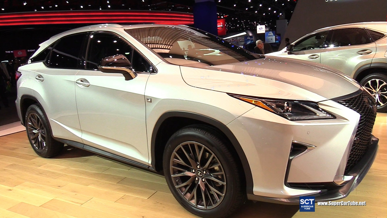 2017 Lexus Rx 350 F Sport Red Interior