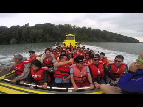 Amway Thailand EDC Trip : Whirlpool Jet boat Tour at Niagara Falls, Canada