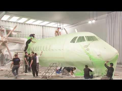Avianca Argentina - Pintado del ATR 72-600 LV-GUG