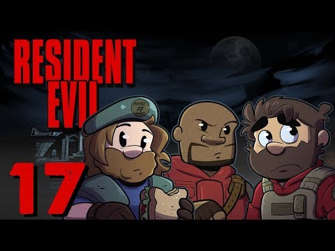 Resident Evil HD Remake | Let's Play Ep. 17 | Super Beard Bros.