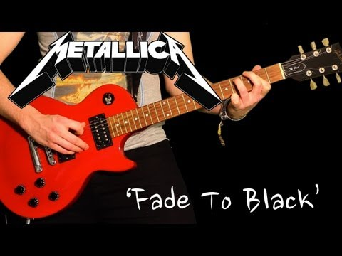 'FADE TO BLACK' by Metallica - Full Instrumental Cover performed by Karl Golden