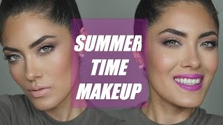 Light & Simple Summer/Daytime Makeup | Melissa Alatorre