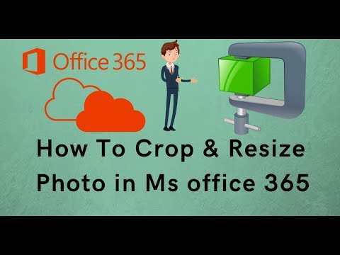 How To Crop and Resize Photo in Ms office 365 in Hindi || Ms Office 365 Picture Manager