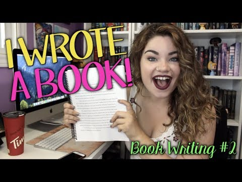 I FINISHED WRITING MY BOOK | Book Writing #2