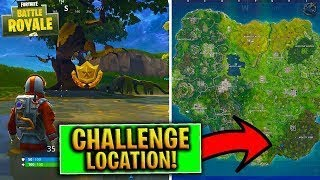 *New Week 4 Treasure Map Location* Fortnite Battle Pass Season 3