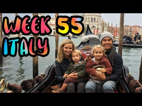 Tour of Italy with Kids!! Milan, Florence, and Venice by Train!! /// WEEK 55 : Italy