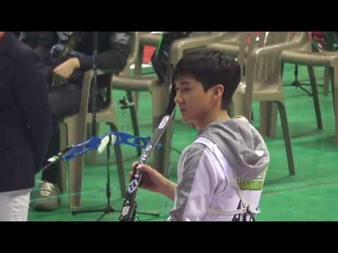 NU'EST Aron's Archery Skills @ 2018 ISAC [Idol Star Athletic Championships]