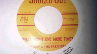 What About One More Time ~ Bobby & The Premiers.wmv